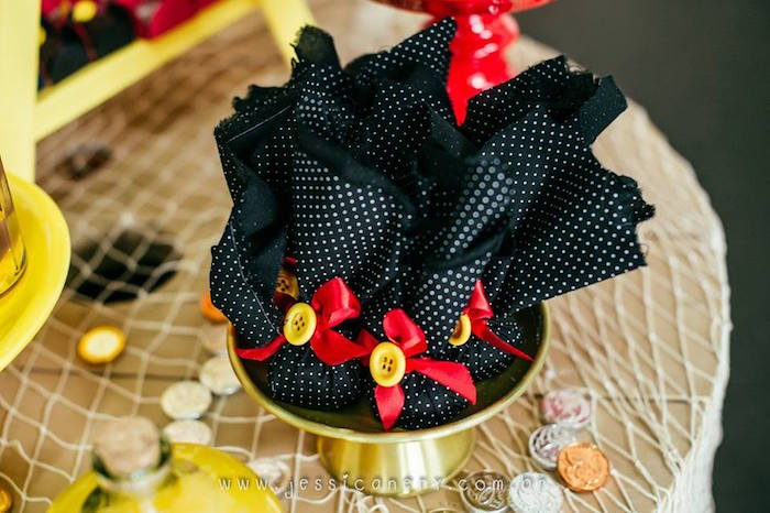 Favors from a Mickey Mouse Pirate Themed Birthday Party via Kara's Party Ideas - KarasPartyIdeas.com (2)
