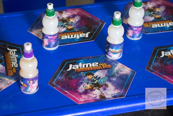 Kids Tabletop from a Miles from Tomorrowland Birthday Party via Kara's Party Ideas KarasPartyIdeas.com (29)