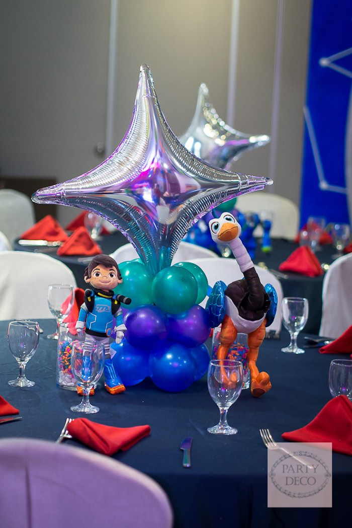 Kara S Party Ideas Miles From Tomorrowland Birthday Party