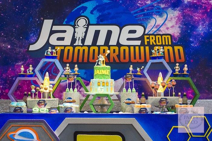 Sweet Table from a Miles from Tomorrowland Birthday Party via Kara's Party Ideas KarasPartyIdeas.com (18)