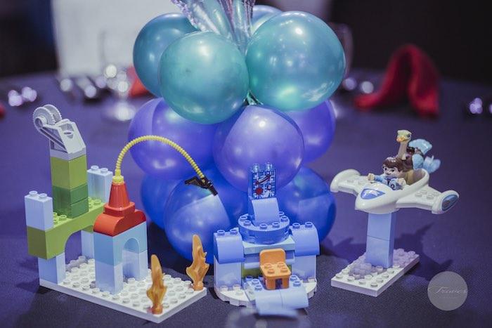 Centerpieces from a Miles from Tomorrowland Birthday Party via Kara's Party Ideas KarasPartyIdeas.com (38)