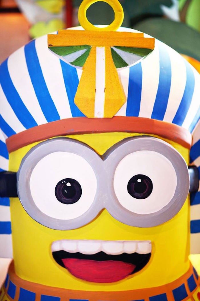 Minion Prop from a Minions in Egypt Themed Birthday Party via Kara's Party Ideas | The Place for All Things Party! KarasPartyIdeas.com (25)