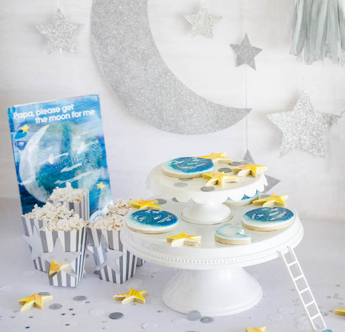 Details from a Moon Inspired Birthday Party via Kara's Party Ideas KarasPartyIdeas.com (9)