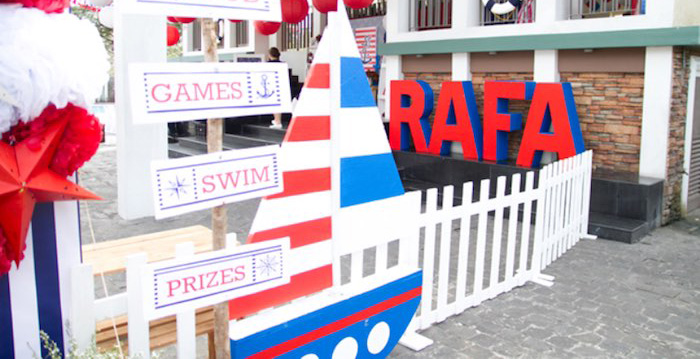 Details from a Nautical Birthday Party via Kara's Party Ideas | KarasPartyIdeas.com (1)