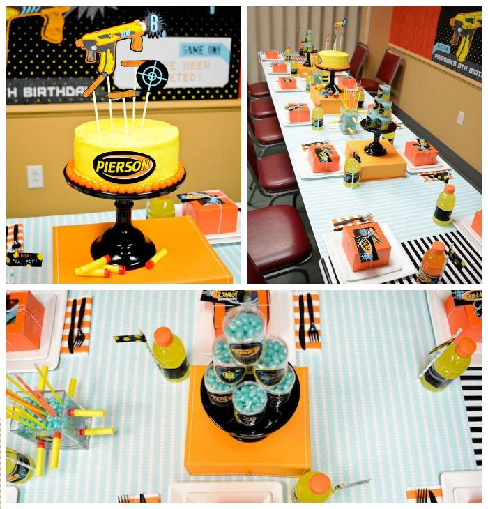 nerf bedroom ideas gun party for kids who love a good game of guns this nerf  . nerf bedroom ideas ...