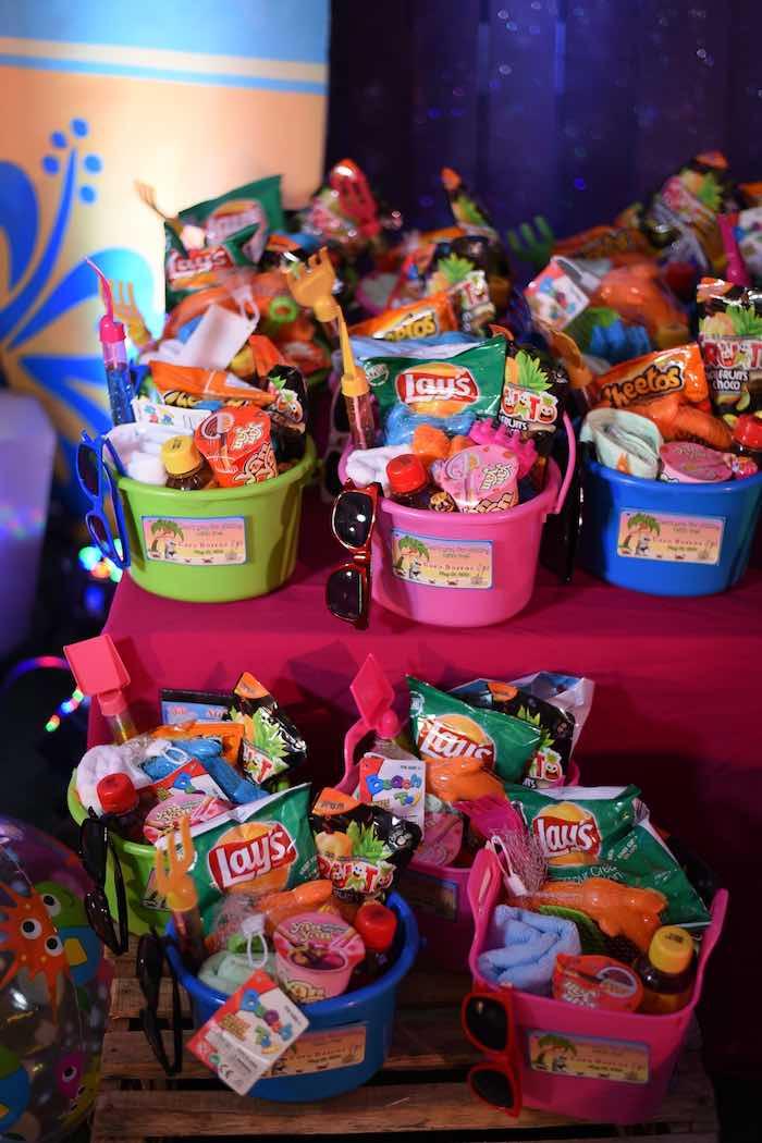 Kara S Party Ideas Olaf S Tropical Summer Birthday Party