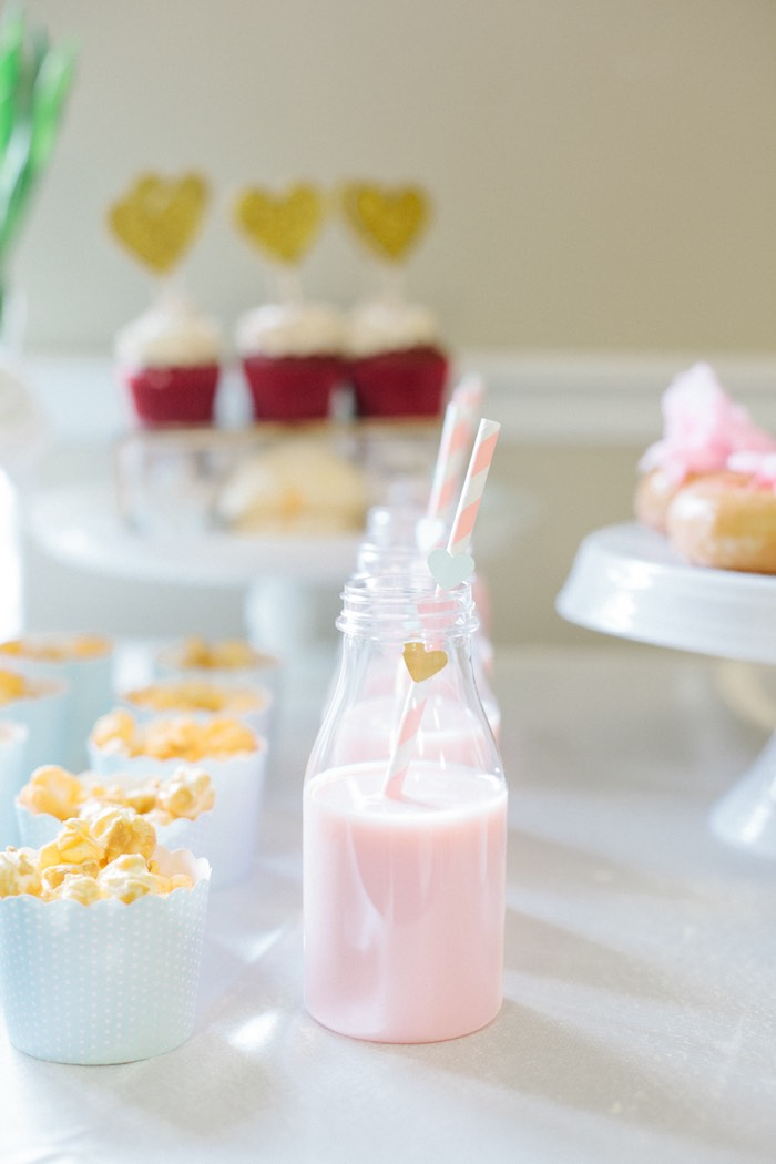 Drinks + Popcorn from a Pastel Art Themed Birthday Party via Kara's Party Ideas | KarasPartyIdeas.com (32)
