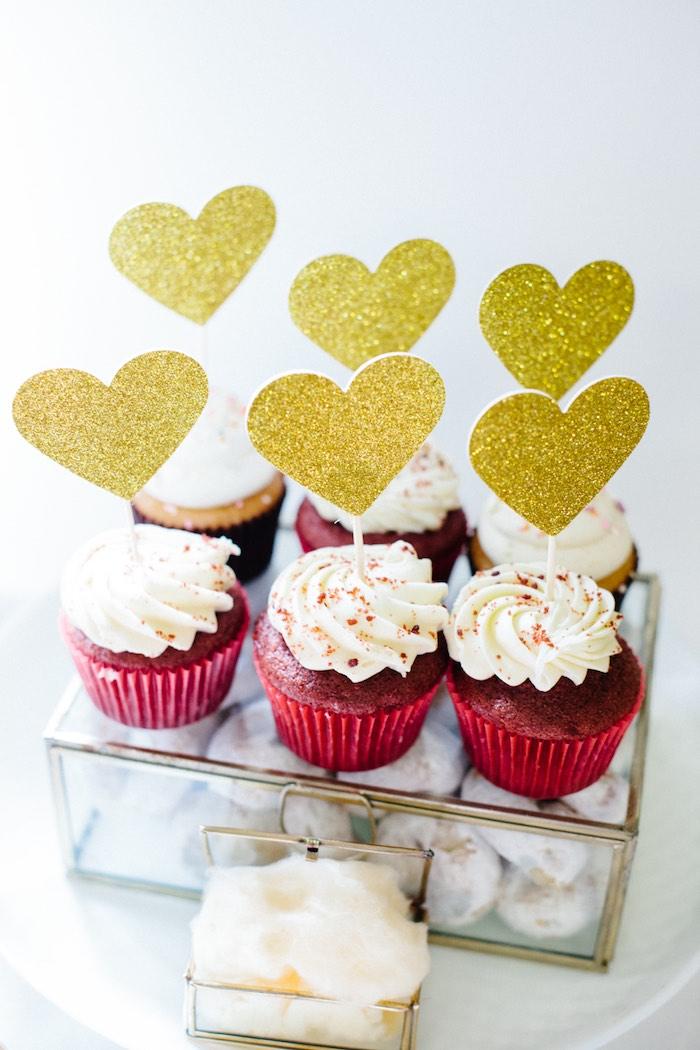 Cupcakes from a Pastel Art Themed Birthday Party via Kara's Party Ideas | KarasPartyIdeas.com (26)