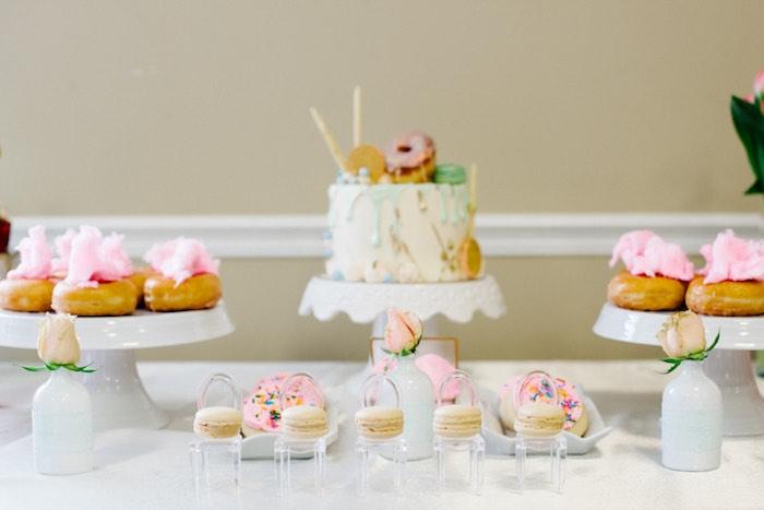Sweet Table Details from a Pastel Art Themed Birthday Party via Kara's Party Ideas | KarasPartyIdeas.com (24)