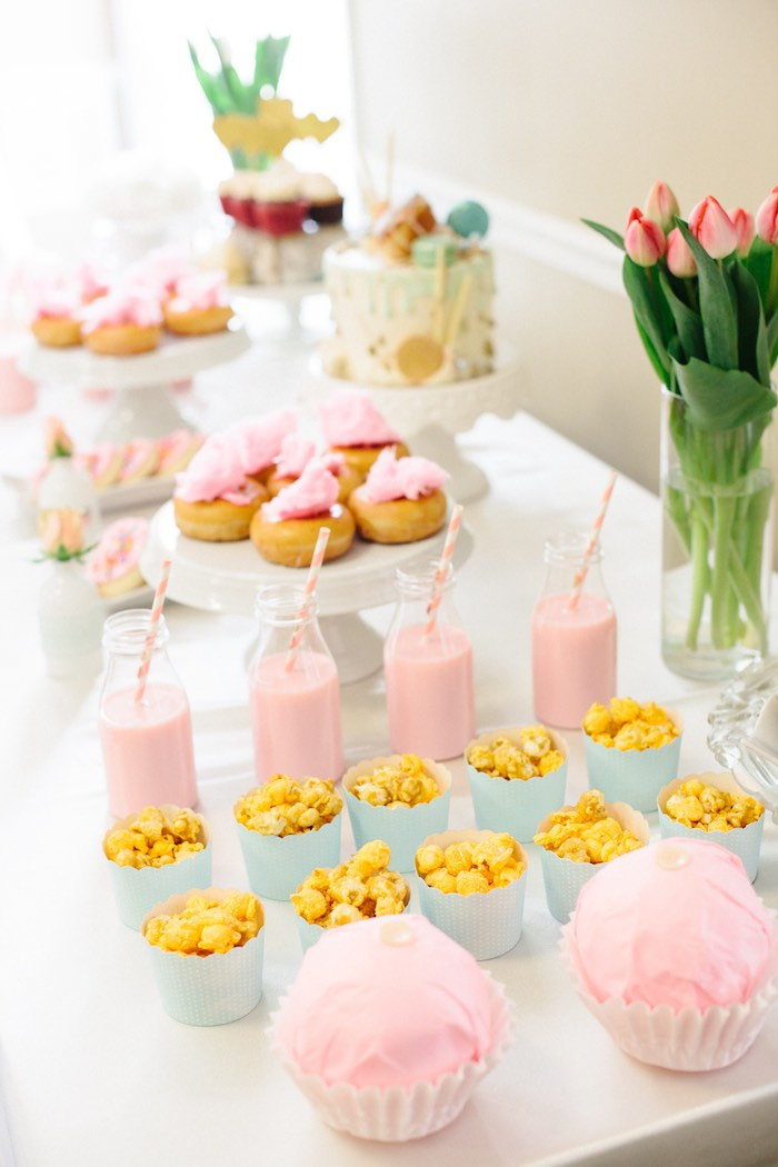 Sweet Table Details from a Pastel Art Themed Birthday Party via Kara's Party Ideas | KarasPartyIdeas.com (22)