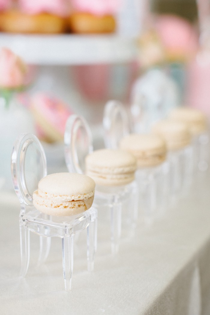 Macarons from a Pastel Art Themed Birthday Party via Kara's Party Ideas | KarasPartyIdeas.com (20)