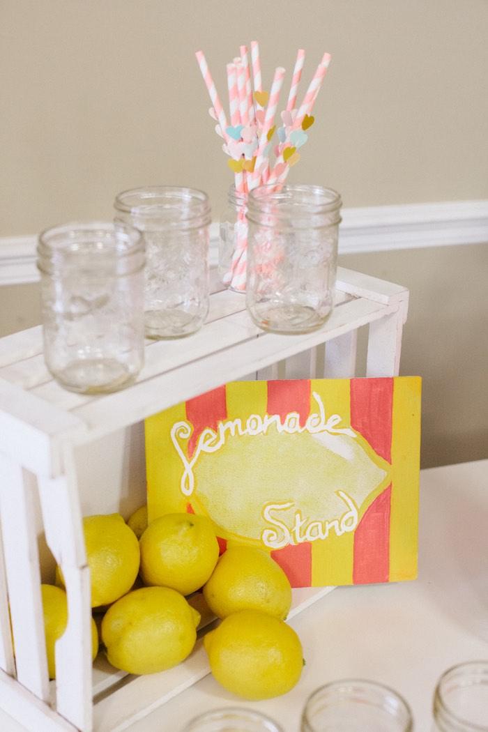 Glasses + Decor from a Pastel Art Themed Birthday Party via Kara's Party Ideas | KarasPartyIdeas.com (10)