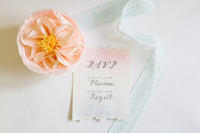 Invitation from a Pastel Art Themed Birthday Party via Kara's Party Ideas | KarasPartyIdeas.com (8)