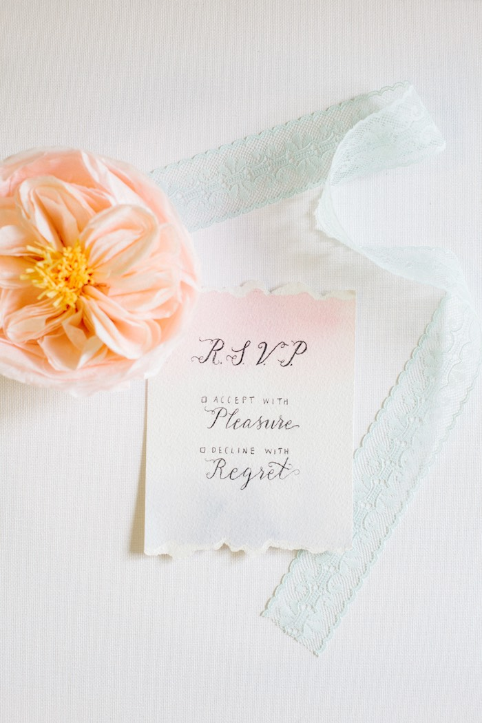 Invitation from a Pastel Art Themed Birthday Party via Kara's Party Ideas | KarasPartyIdeas.com (7)