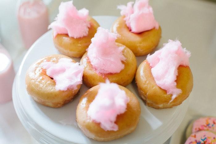 Doughnuts from a Pastel Art Themed Birthday Party via Kara's Party Ideas | KarasPartyIdeas.com (33)