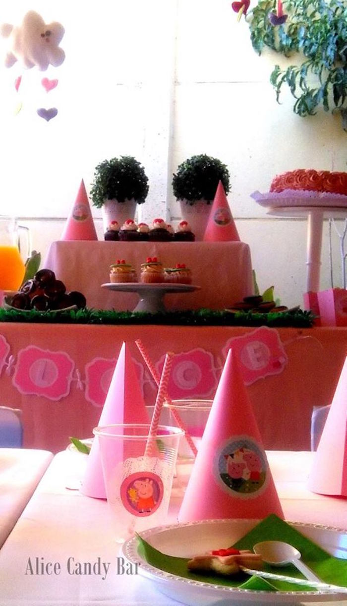 Tea time tea birthday party via kara s party ideas karaspartyideas com - Party Details From A Peppa Pig Princess Birthday Party Via Kara S Party Ideas Karaspartyideas Com