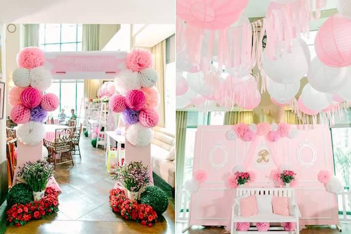 Details from a Pink Princess Baptism Party via Kara's Party Ideas | The Place for All Things Party! KarasPartyIdeas.com (25)
