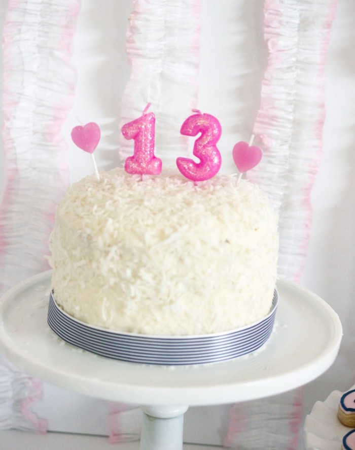 Cake from a Preppy Whale Themed Birthday Party via Kara's Party Ideas KarasPartyIdeas.com (21)