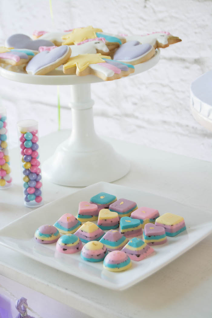 Sweets from a Rainbow Unicorn Birthday Party via Kara's Party Ideas KarasPartyIdeas.com (14)