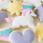 Cookies from a Rainbow Unicorn Birthday Party via Kara's Party Ideas KarasPartyIdeas.com (2)