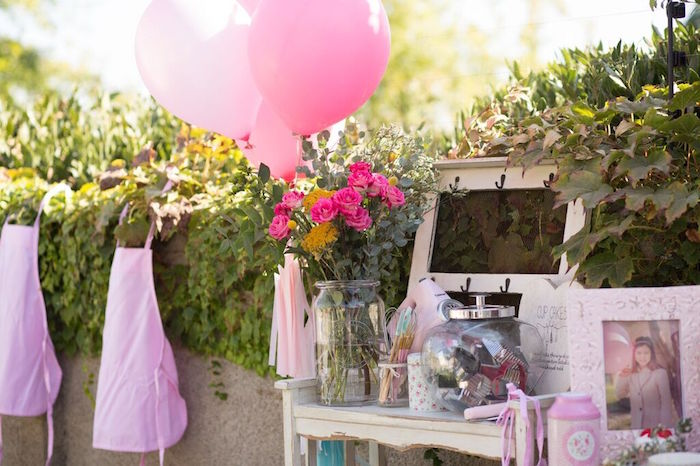 Details from a Shabby Chic Bakery Birthday Party via Kara's Party Ideas |The Place for All Things Party! KarasPartyIdeas.com (26)