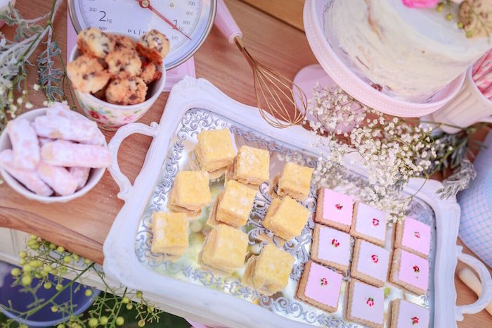 Sweets from a Shabby Chic Bakery Birthday Party via Kara's Party Ideas |The Place for All Things Party! KarasPartyIdeas.com (12)