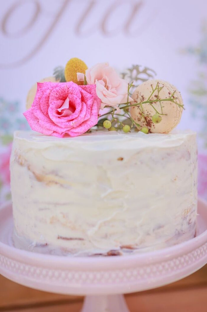 shabby chic wedding cake ideas kara s ideas shabby chic bakery birthday 19767