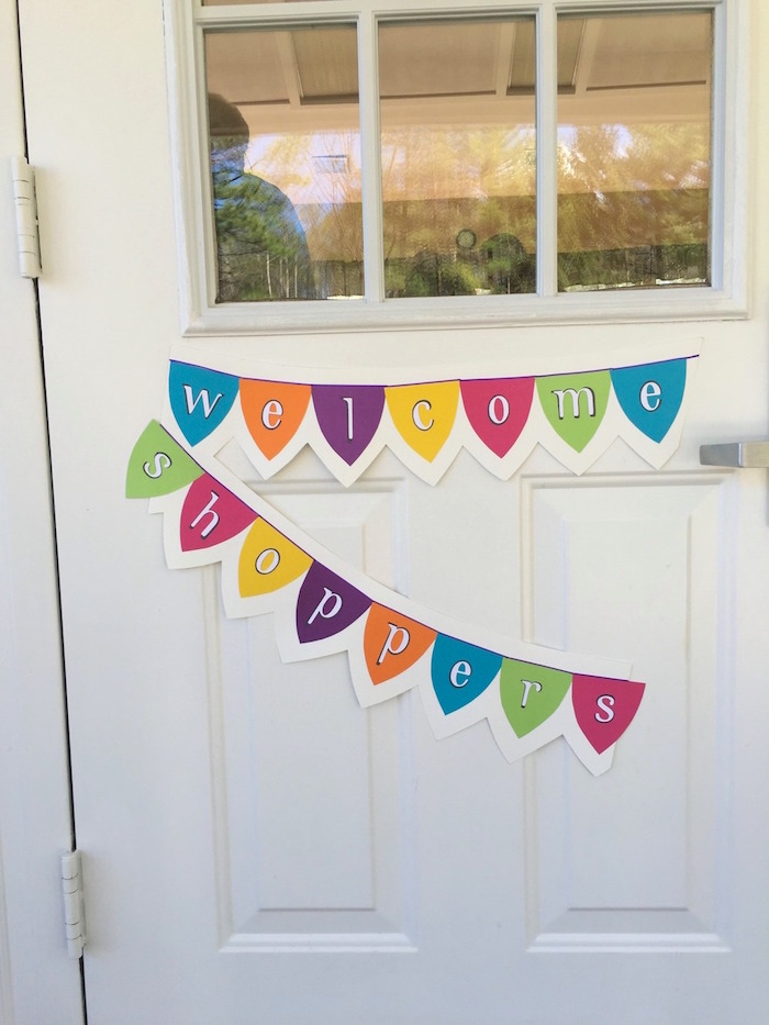 Welcome Banner from a Shopkins Birthday Party via Kara's Party Ideas - KarasPartyIdeas.com (12)