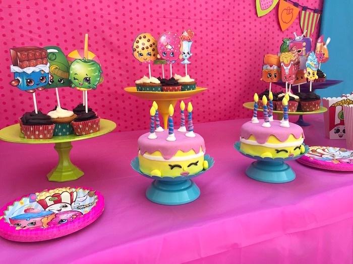 Sweet Table Details from a Shopkins Birthday Party via Kara's Party Ideas - KarasPartyIdeas.com (7)