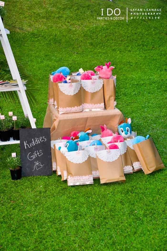 Favor Bags from a Vintage Shabby Chic 1st Birthday Party via Kara's Party Ideas | KarasPartyIdeas.com (34)