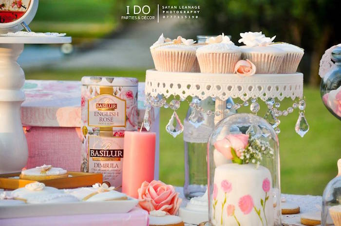 Details from a Vintage Shabby Chic 1st Birthday Party via Kara's Party Ideas | KarasPartyIdeas.com (19)