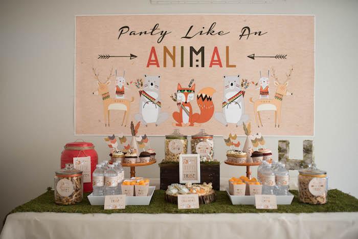 ... Party Ideas Woodland Animals Birthday Party  Karas Party Ideas