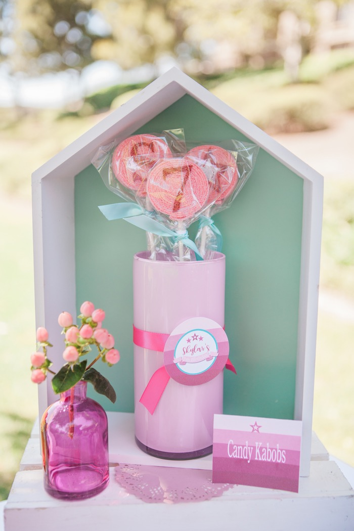 Details from an American Girl Doll Inspired Birthday Party via Kara's Party Ideas | KarasPartyIdeas.com | The Place for All Things Party! (24)