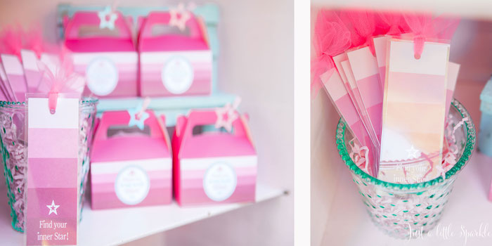 Favors from an American Girl Doll Inspired Birthday Party via Kara's Party Ideas | KarasPartyIdeas.com | The Place for All Things Party! (46)
