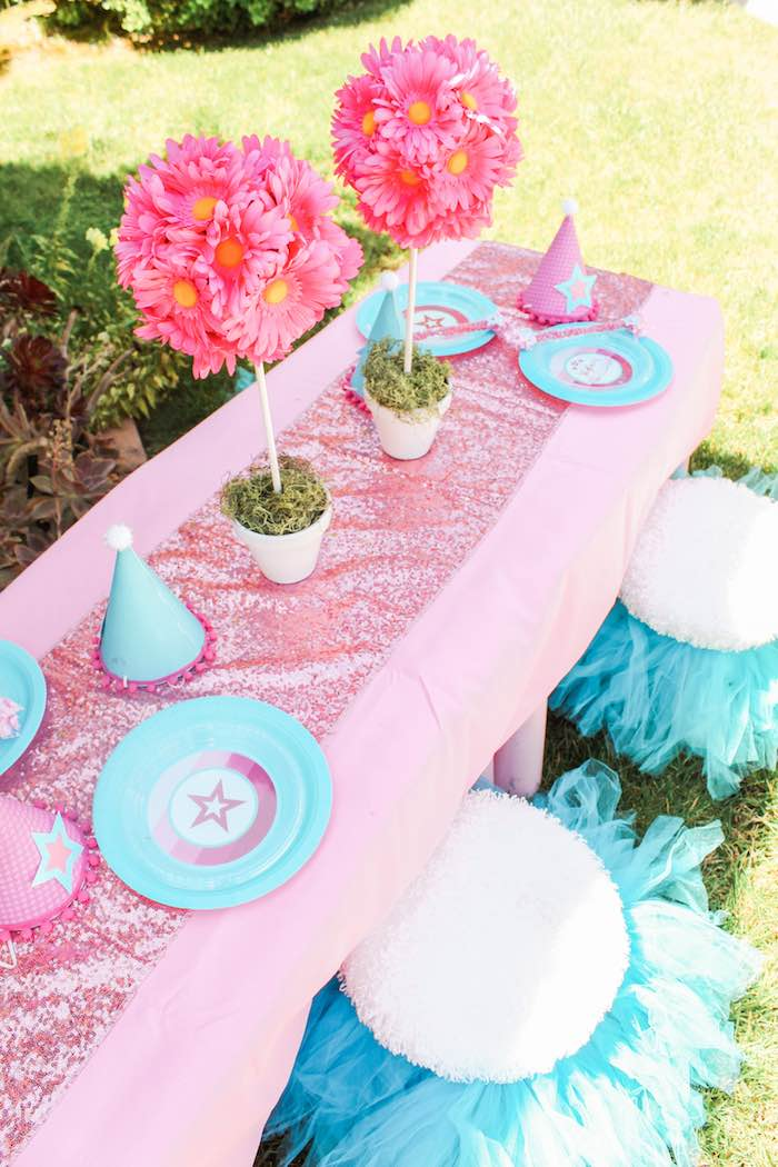American Girl Doll Inspired Birthday Party via Kara's Party Ideas | KarasPartyIdeas.com | The Place for All Things Party! (6)