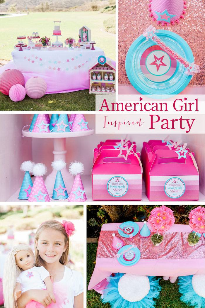 Kara S Party Ideas American Girl Doll Inspired Birthday