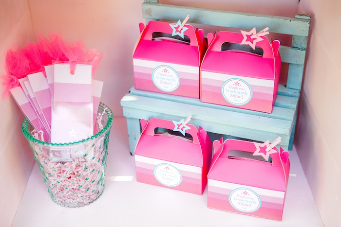 Favors from an American Girl Doll Inspired Birthday Party via Kara's Party Ideas | KarasPartyIdeas.com | The Place for All Things Party! (39)