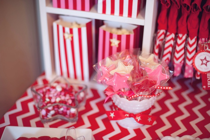 Star Pops + Favors from an American Girl Doll Themed Birthday Party via Kara's Party Ideas! KarasPartyIdeas.com (29)