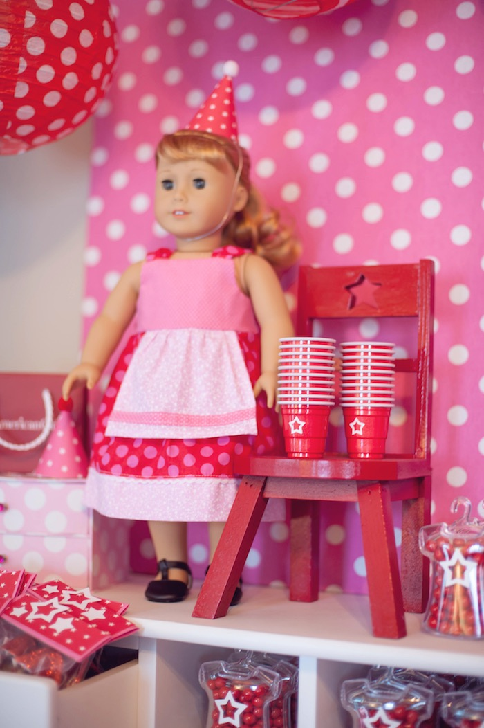 Miniature american girl beach party #2