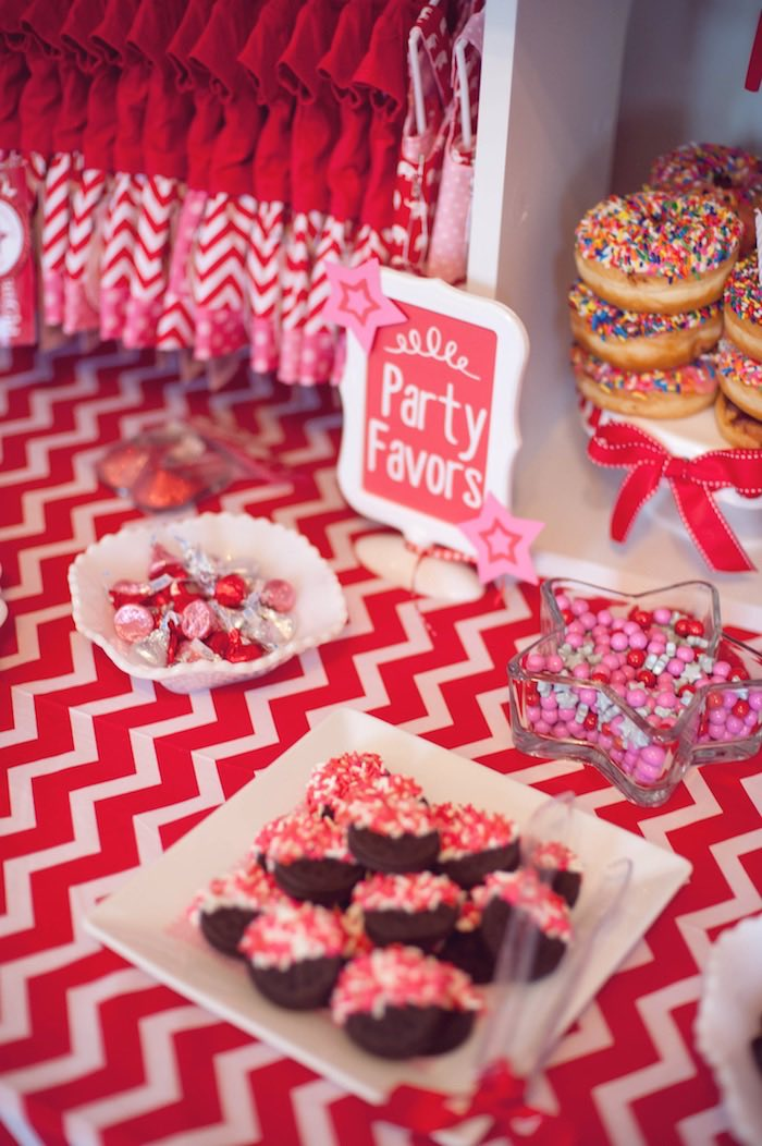 Sweets from an American Girl Doll Themed Birthday Party via Kara's Party Ideas! KarasPartyIdeas.com (25)