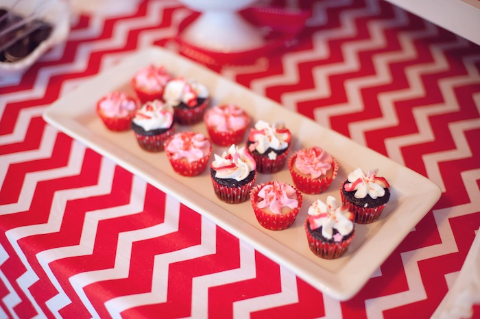 American Themed Dinner Party Ideas Part - 38: Mini Cupcakes From An American Girl Doll Themed Birthday Party Via Karau0027s Party  Ideas! KarasPartyIdeas