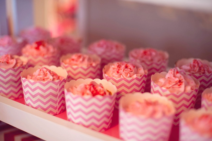 Cupcakes from an American Girl Doll Themed Birthday Party via Kara's Party Ideas! KarasPartyIdeas.com (20)
