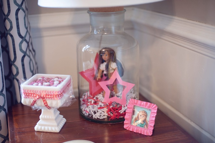 Details from an American Girl Doll Themed Birthday Party via Kara's Party Ideas! KarasPartyIdeas.com (12)