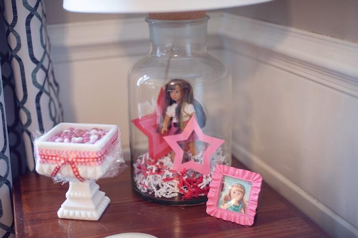Details from an American Girl Doll Themed Birthday Party via Kara's Party Ideas! KarasPartyIdeas.com (12)