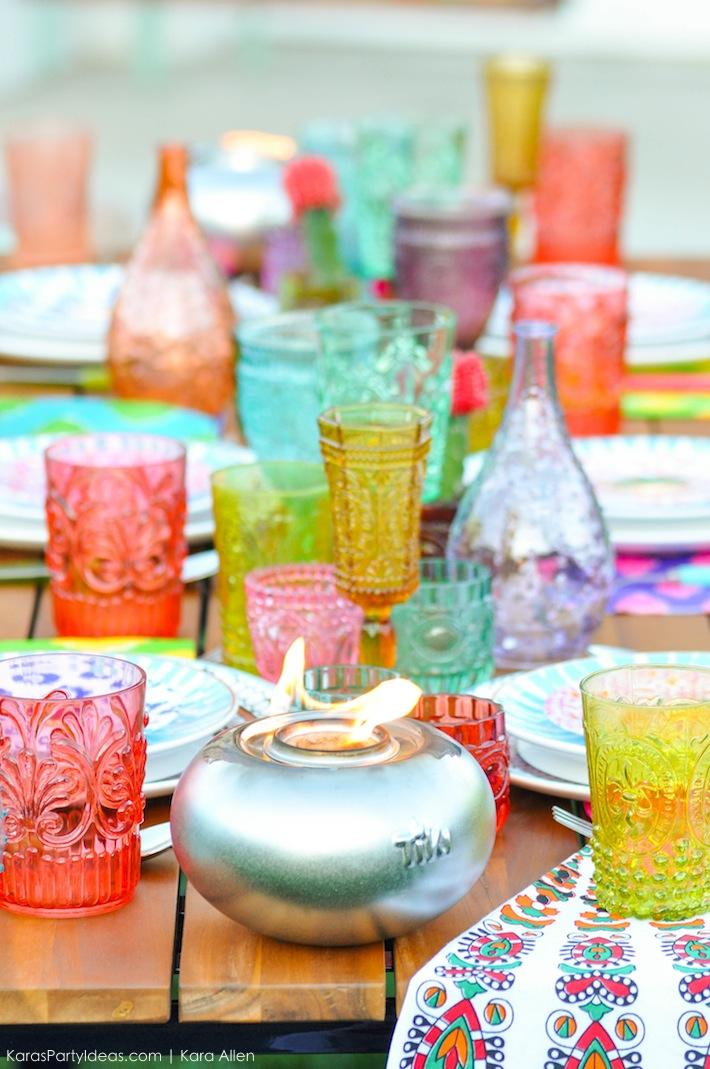 Backyard Boho Tiki Party by Kara's Party Ideas | Kara Allen | KarasPartyIdeas.com-24
