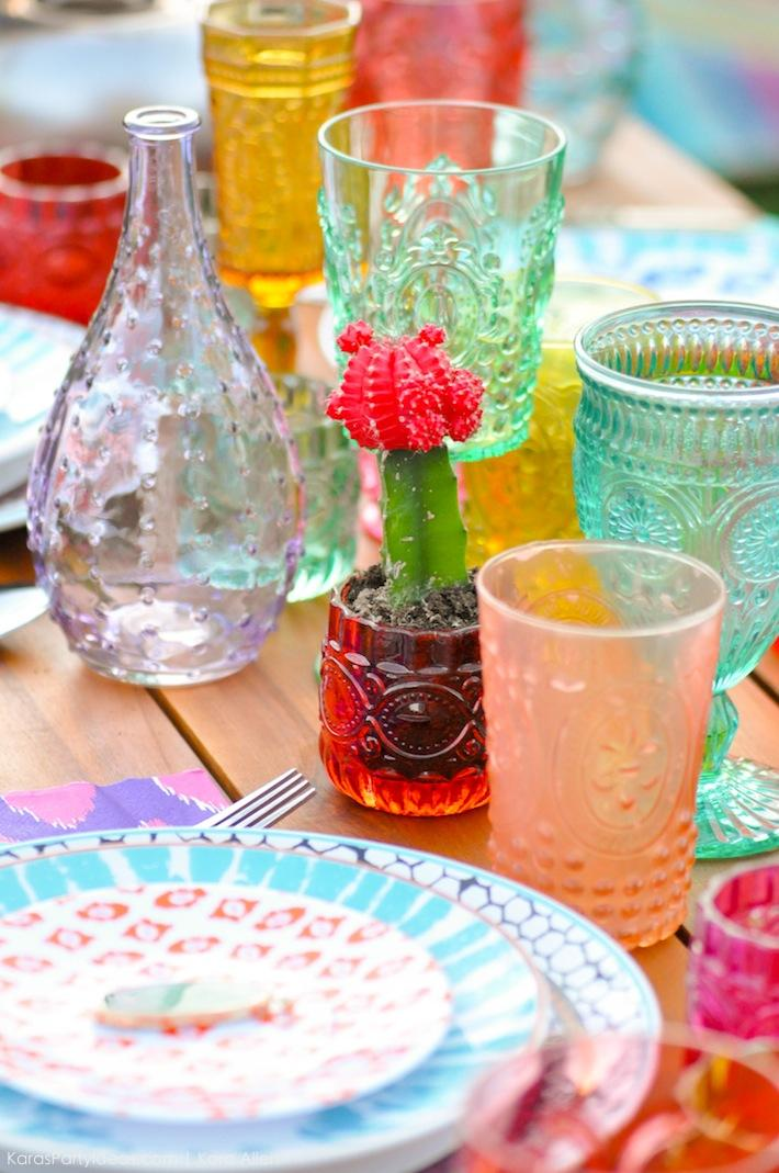 Backyard Boho Tiki Party by Kara's Party Ideas | Kara Allen | KarasPartyIdeas.com-48