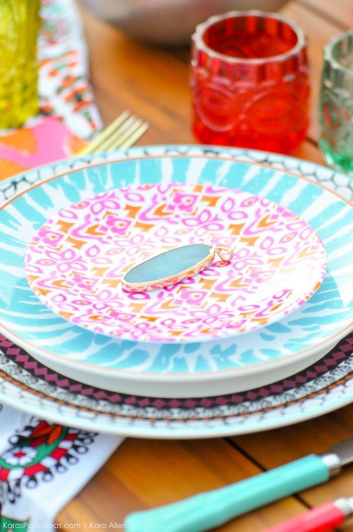 Backyard Boho Tiki Party by Kara's Party Ideas   Kara Allen   KarasPartyIdeas.com-52