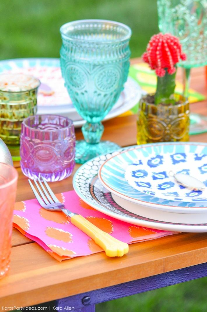 Backyard Boho Tiki Party by Kara's Party Ideas | Kara Allen | KarasPartyIdeas.com-6