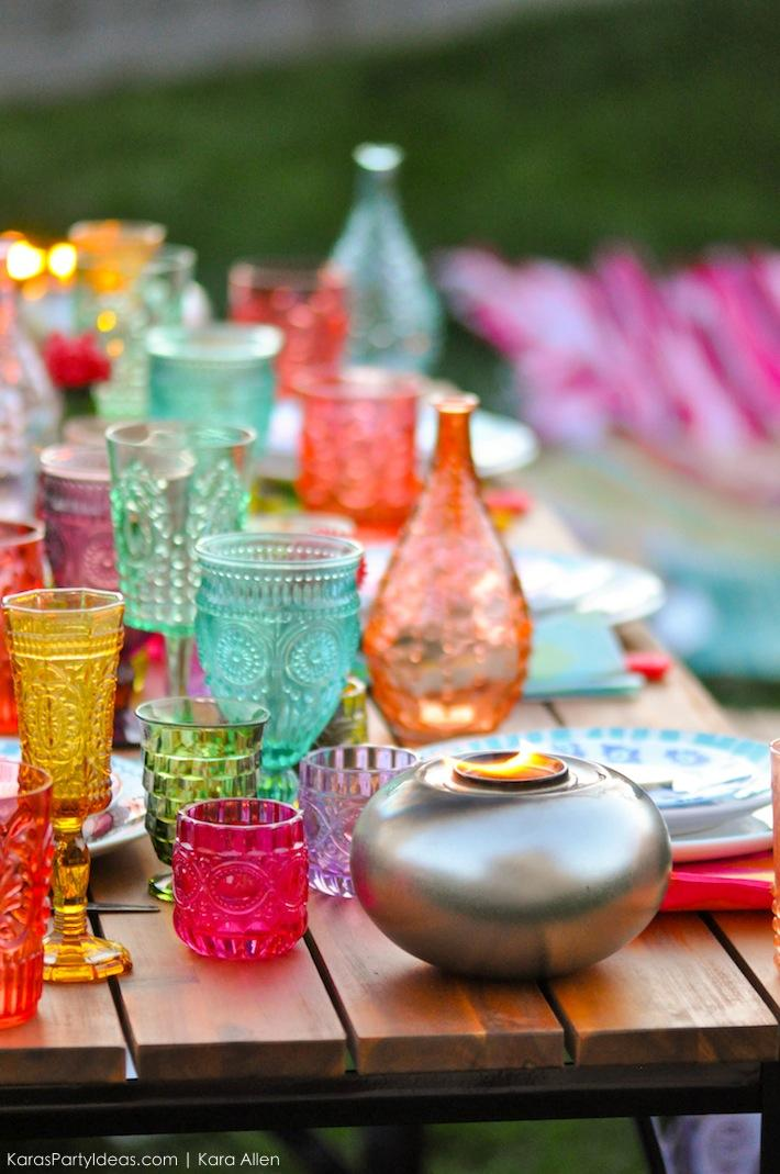 Backyard Boho Tiki Party by Kara's Party Ideas | Kara Allen | KarasPartyIdeas.com-63