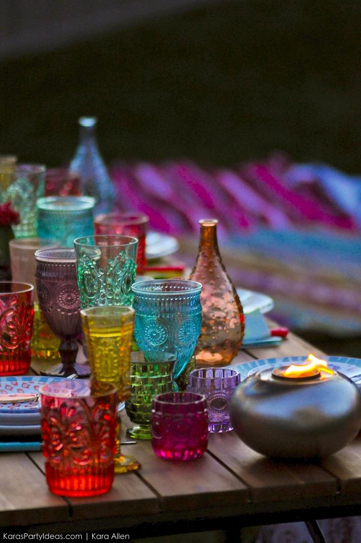 Backyard Boho Tiki Party by Kara's Party Ideas | Kara Allen | KarasPartyIdeas.com-70